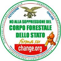 NO ALLA SOPPRESSIONE DEL CORPO FORESTALE DELLO STATO